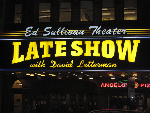 Letterman Announces Final 'Late Show' Guests