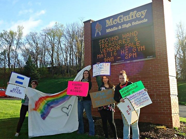 Pa. High School Students Come Under Fire for 'Anti-Gay Day'