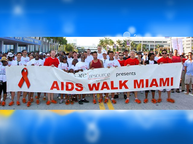 Miami Community Coming Together For AIDS Walk