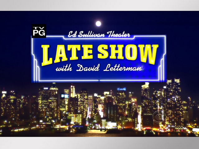 David Letterman Leaves Late Night With Thanks and a Smile
