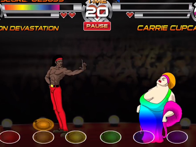 Video: Gay Fighting Video Game Released in Time for Pride
