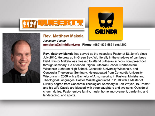 Anti-Gay Mich. Pastor Resigns After Grindr Pics Go Viral