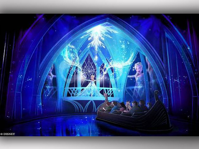 Disney Offers First Look at 'Frozen' Ride