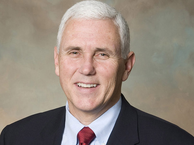 Pence Defiant on Religious Objections Law in Campaign Launch