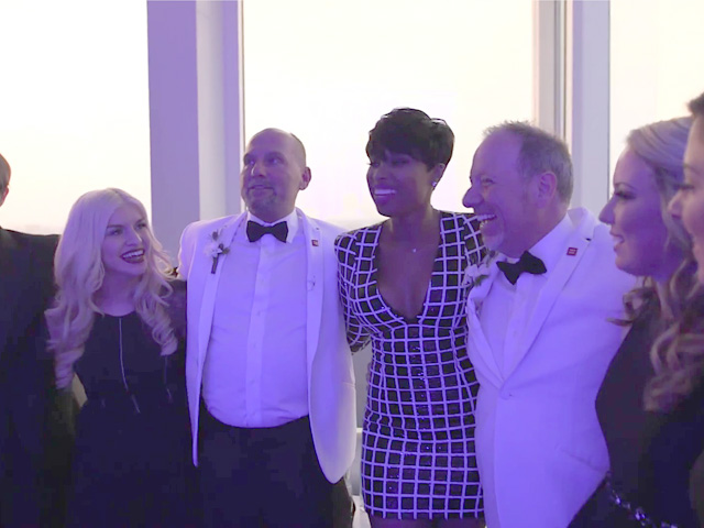 VIDEO: Jennifer Hudson Surprise 'Crashes' One of Dallas' 1st Gay Weddings
