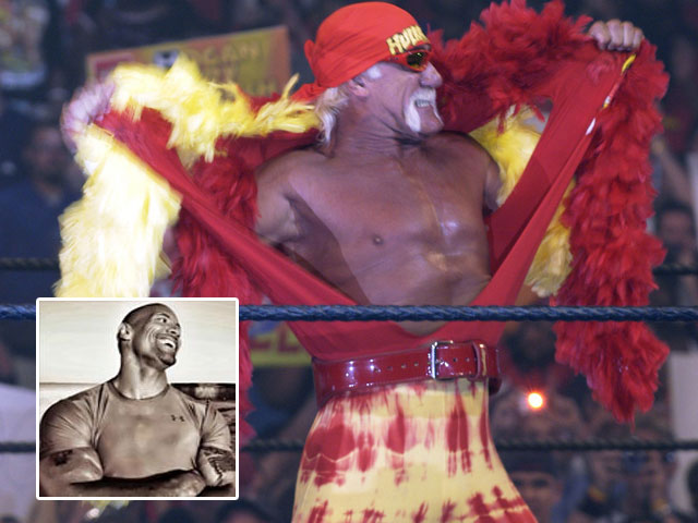 Dwayne Johnson Says of Hulk Hogan: 'We've All Talked Trash'