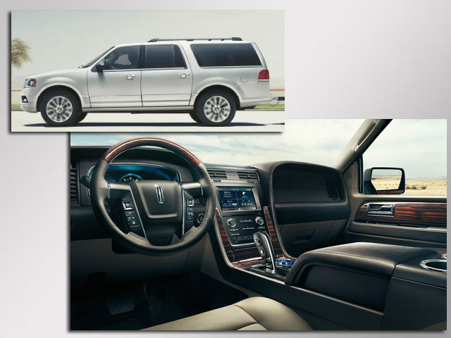 Gay Car Geek: 2015 Lincoln Navigator — Got Leather? So Does This