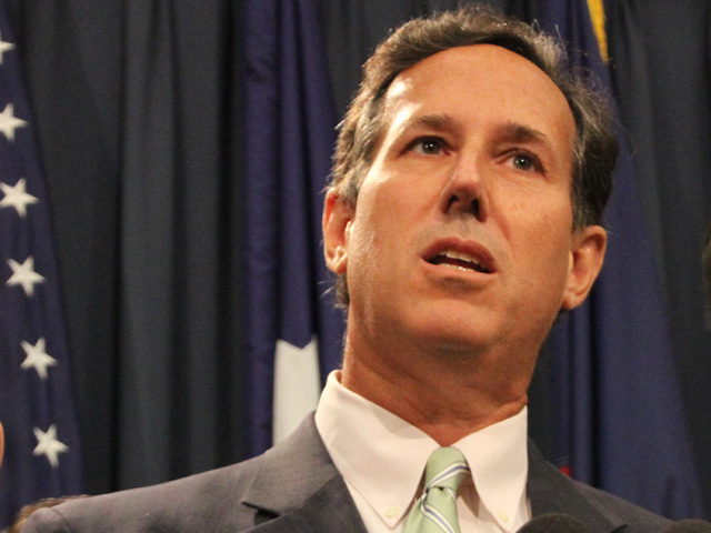 Rick santorum views on homosexuality