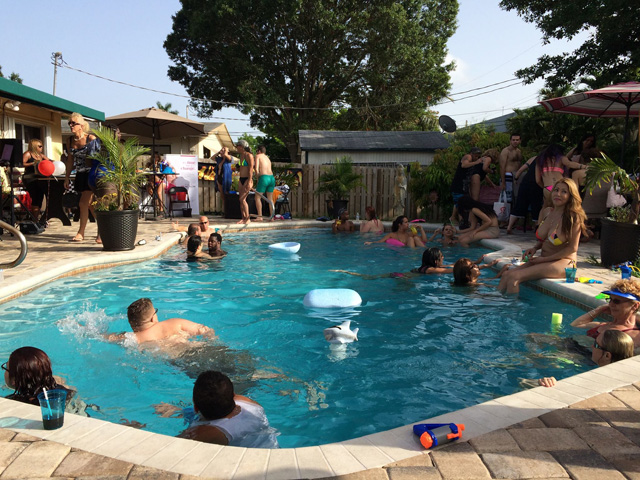 SunServe Hosts First Annual Transgender Pool Party