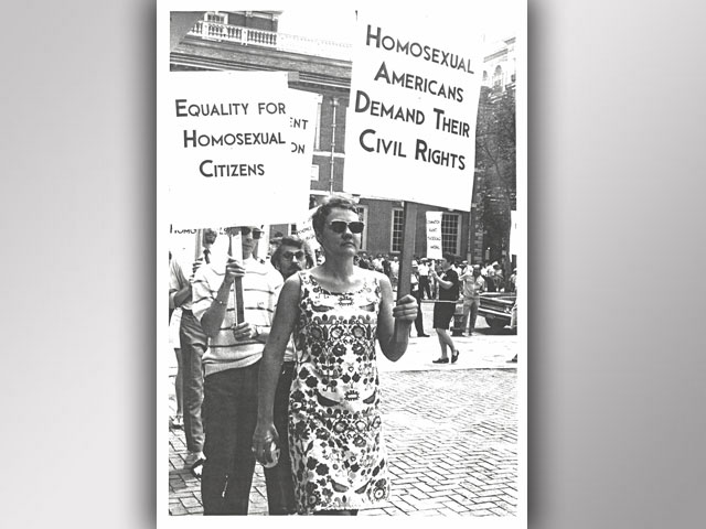 Book Chronicles Life of Mother of LGBT Equality Movement