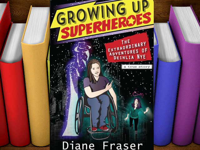 Books: Growing Up Superheroes And Living Life To Its Fullest