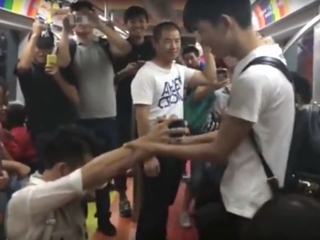 Gay Subway Proposal an Internet Hit in China