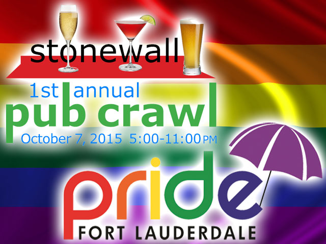 Pride Fort Lauderdale Kicks Off With Pub Crawl