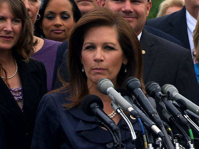 Michele Bachmann Blames Carolina Floods on Obama