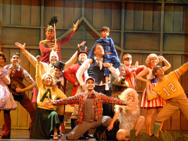 "Slow Burn Graduates with ""Big Fish"" at Broward Center"