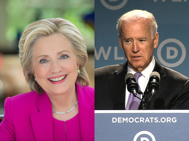 Clinton and Biden Speak to HRC