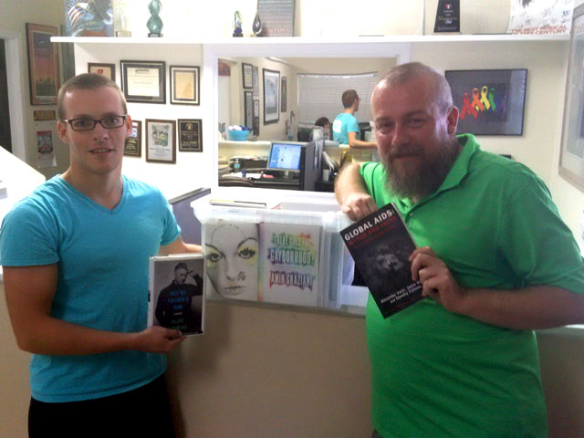 SFGN Donates Books To Stonewall Library