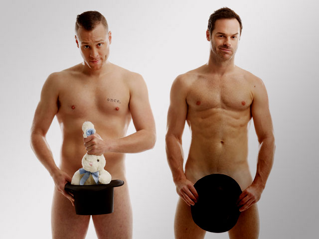 Aussie Magicians Make Their Clothes Disappear at Parker Playhouse