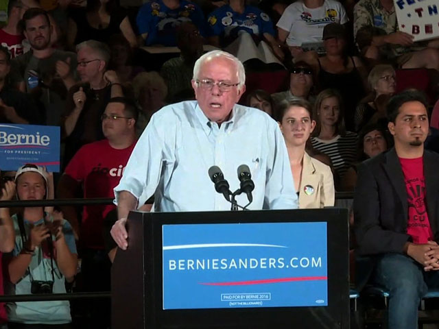 Sanders Says Some Republicans Are Feeling The Bern