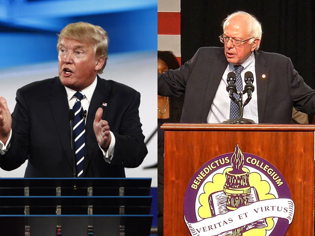 White House Watch: Shock Polls Shows Sanders and Trump Support Collapsing