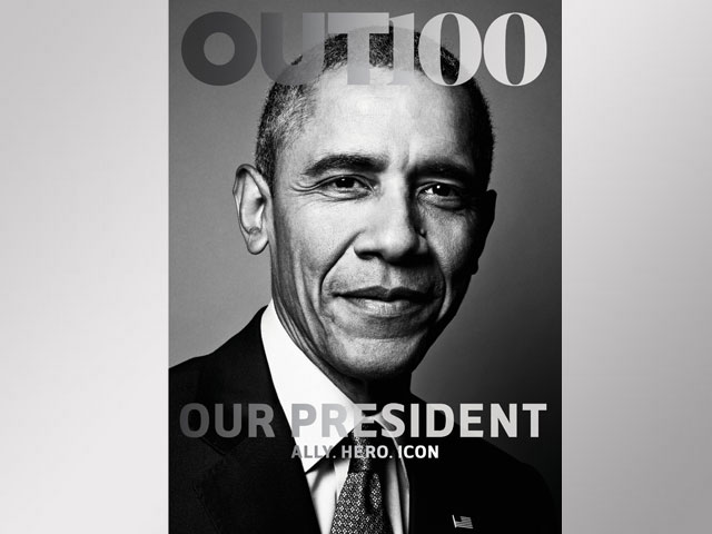 OUT Magazine LGBT 'Ally of the Year': Barack Obama