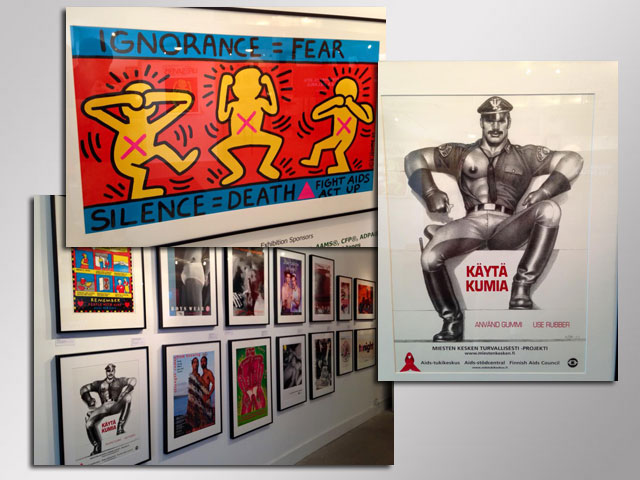Stonewall Exhibit Showcases International AIDS Posters