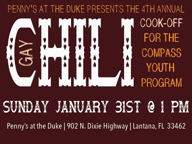 4th Annual Gay Chili Cook Off in Lake Worth