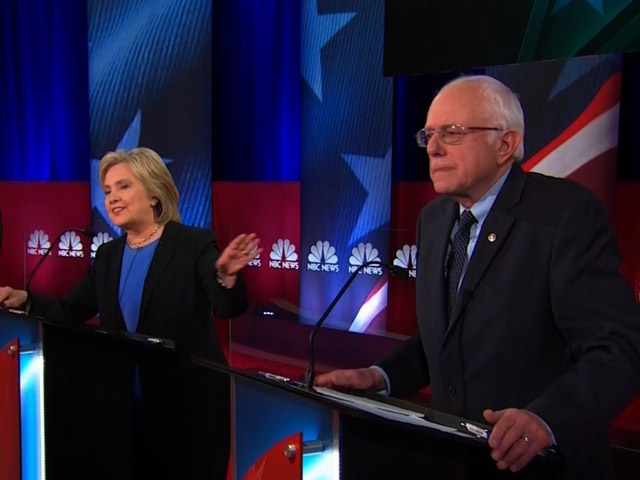 Dem Race Shaken, Stirred as Sanders, Clinton Meet in Debate