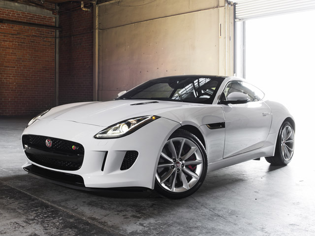 Gay Car Geek: 2016 Jaguar F-Type S Coupe
