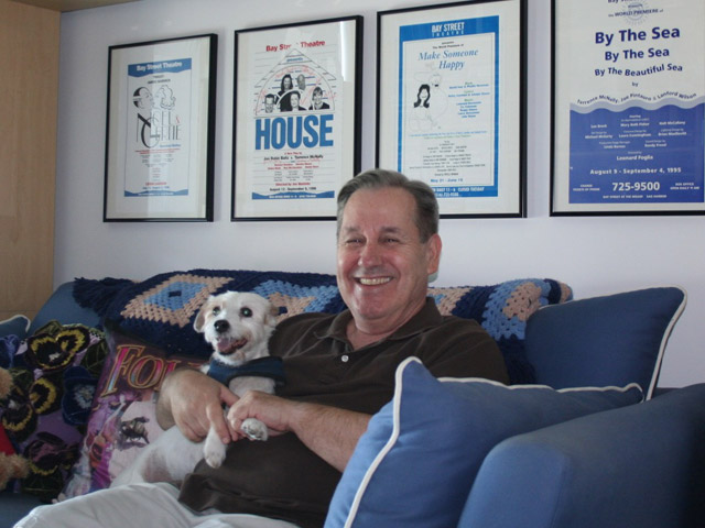At Home: Playwright Tony Finstrom