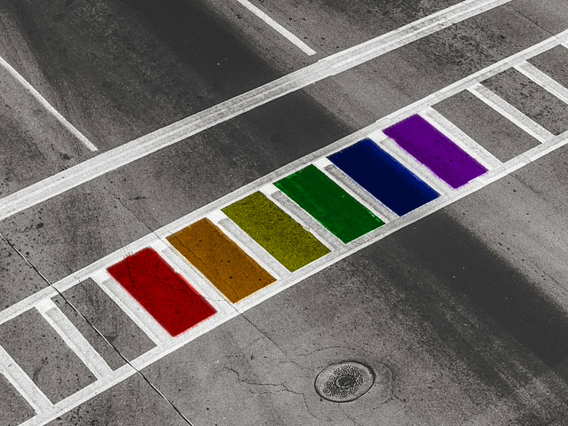 Key West Installs 4 Rainbow Crosswalks for LGBT Support