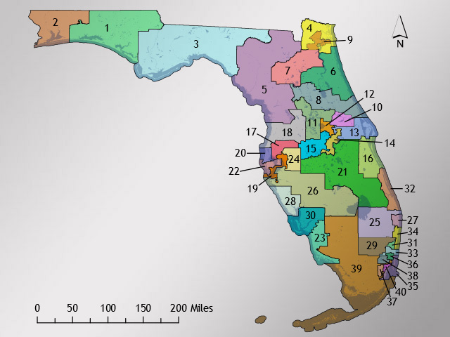 Florida Supreme Court: Congressional Districts Passed by Republicans Are Unconstitutional