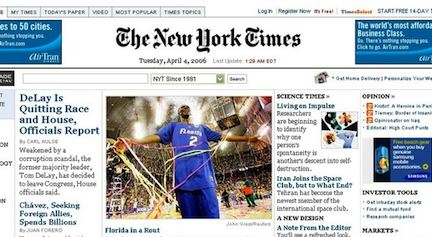 NY Times Online To Be Charging For Access in 2011