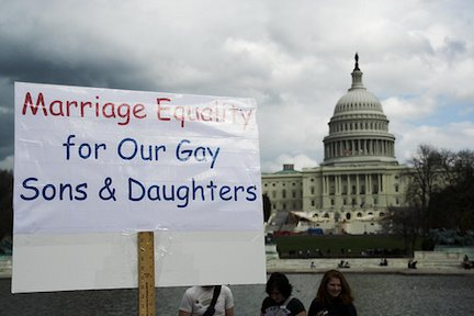 Gay Marriage in DC Moves Forward