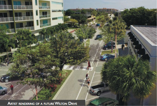 Proposed Wilton Drive