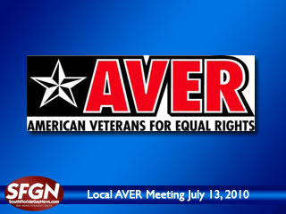 AVER's Membership Meeting is July 13th at Equality Park.