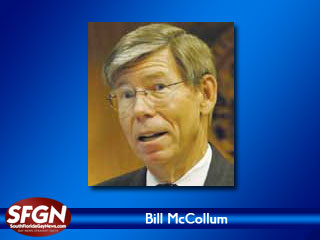 Gubernatorial Candidate McCollum Now Opposes Gay Foster Parenting