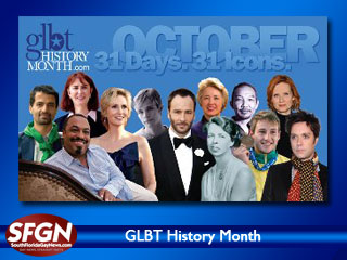 GLBT History Month 2010 Web Site Launched