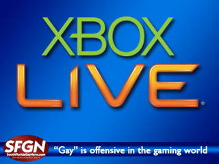 """Gay"" is offensive to Microsoft"