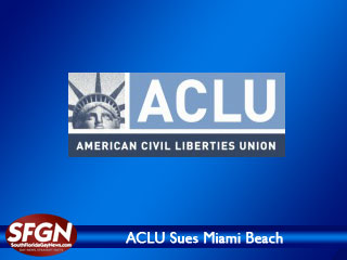 ACLU sues Miami Beach