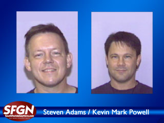 In Wilton Manors, Murder Victims Steven Adams and Kevein Mark Powell