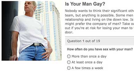 Gay relationship quiz