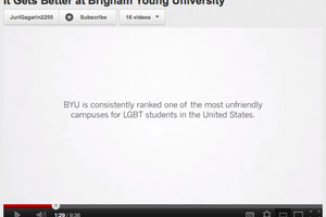 BYU It Gets Better Video
