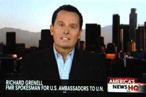 Grenell appearing on Fox News