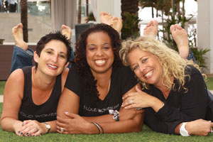 The 3 Loud Women, Stephany Goldberg Glazer, Teana McDonald, Allyson Tomchin
