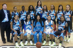 Mission College Women's Basketball Team