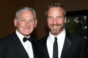 Victor Garber and his partner Rainer Andreesen