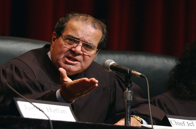 Barney Frank Knocks Judge Scalia on MSNBC, Calls Him 'Advocate of F*g Burning'