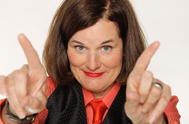 Education, Politics No Laughing Matter for Paula Poundstone